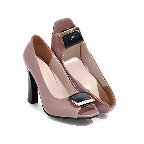 Party High Heel Pink Shoes Toe Sexy Mee Court Shoes Peep wEqxAXH