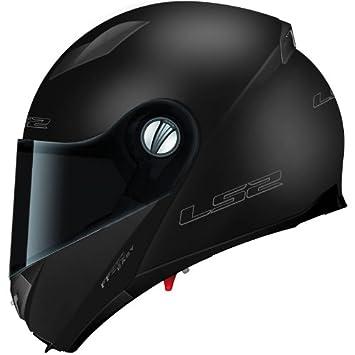 LS2 FF370 EASY casco con parasol – Negro Mate