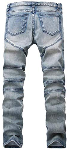 Estilo Especial 29 Fit Stonewashed Jeans Size Regular Usati Da Pantaloni Denim De9991retro color Uomo gwxYC0WTq