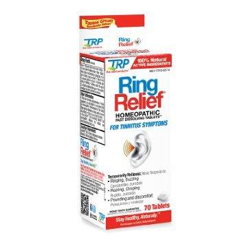 TRP société Ring soulagement rapide dissolution - 70 onglets, Pack de 2