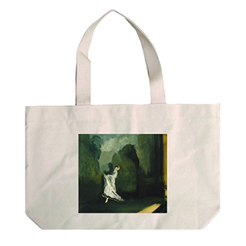 Keiths Union Square (Everett Shinn) Cotton Natural Canvas Beach Tote - Square Union At Shopping