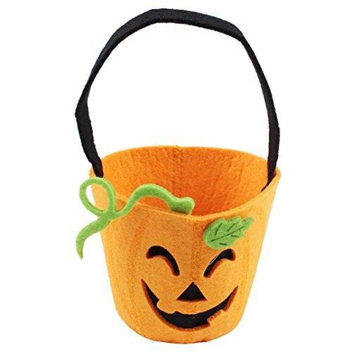 DKmagic Halloween Classic Style Candy Bag Gift Bag Bagkin Bag (I) (Handle Braid Satchel)