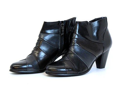 Donna stivaletti nero, (schwarz) 1400