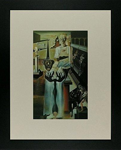 El hombre invisible (1929 - 33) - Salvador Dali - cuadro con marco - 11 x 14: Amazon.es: Hogar