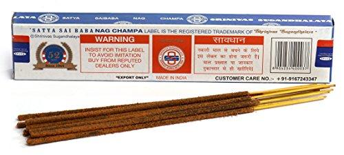 Authentic SATYA SAI BABA Nag Champa Incense Sticks