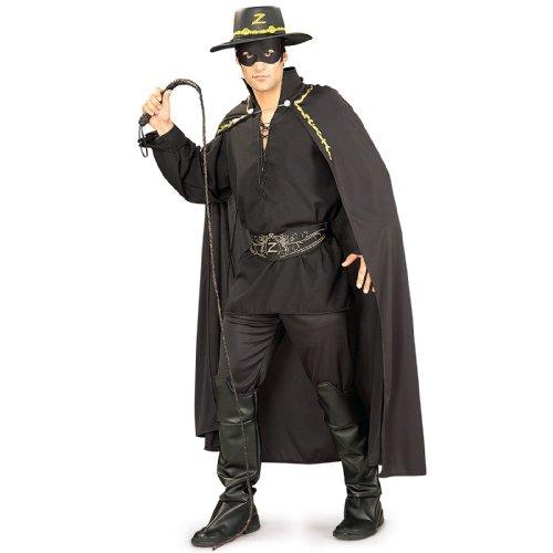 Rubie's Costume Co Men's Zorro Bull Whip, Multi, One Size (Mask Of Zorro Sword)