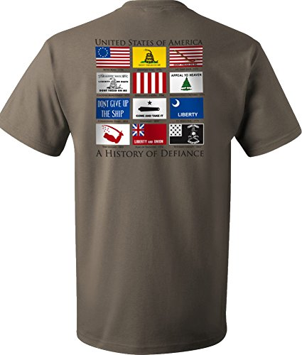 Flags of Defiance T-Shirt Sage - XL