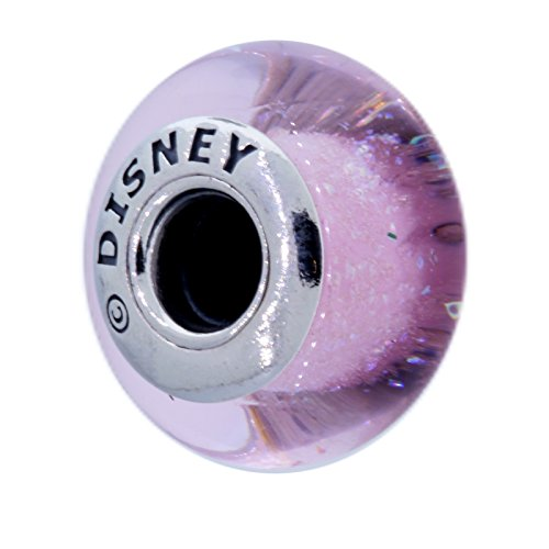 Pandora Disney Sleeping Beauty Aurora's Signature Color Pink Murano Charm 791658