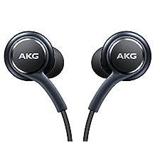 Official Galaxy S8/S8+ In-Ear Headphones [EO-IG955BSEGWW], Fone-Stuff - Tuned by AKG, Remote + Mic Hands free Earphones - Titanium Grey