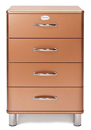 Tenzo 5016 089 Malibu Deluxe Designer Kommode Kupfer Metallic