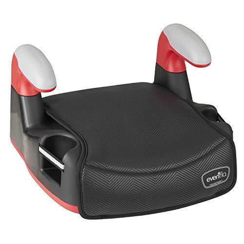41Ik0XJes6L - Big Kid No Back Booster Car Seat, 40 - 110 Lbs., Black Chevron