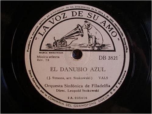 Antiguo Disco Pizarra - Old Disc Slate: EL DANUBIO AZUL ...