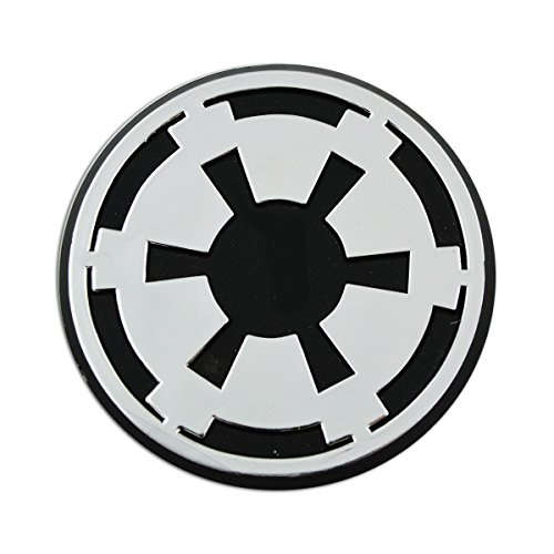 Imperial Galactic Empire Logo Chrome Auto Emblem - 3