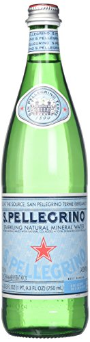 San Pellegrino Sparkling Natural Mineral Water, 25.3 Fluid Ounce (Pack of 12) ()