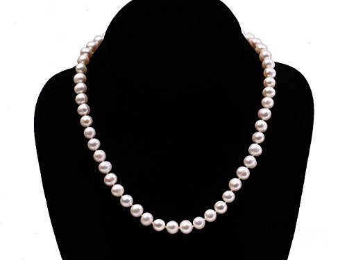 Honesty Jyx Pearl Rose Brooch Jewelry Exquisite Lovely Rose-shaped 9.5mm White Pearl Jewelry & Watches Pins & Brooches