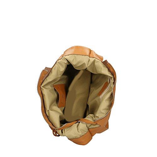 italie cuir Aren fabriqué à en Bronzage Cm bandoulière 34x31x10 véritable pour en femme sac RvvH8qrwY