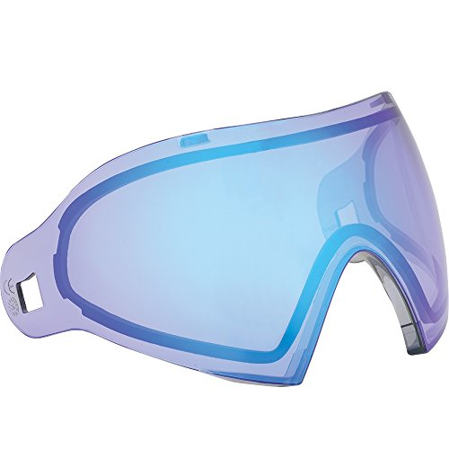 - Dye Precision i4 Goggle Replacement Lens - Dyetanium Smoke Blue Ice