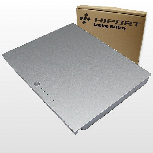 """Hiport Laptop Battery For Apple Macbook Pro A1175, A1150, A1260, A1226, A1211, MA090LL/A, MA348, MA348LL/A, MA348G/A, MA463LL/A, MA464LL/A, MA466LL/A, MA600LL/A, MA601LL/A, MA609LL/A, MA610LL/A, MA680LL/A, MA681LL/A, MA895LL/A, MA896LL/A, MB133LL/A, MB134LL/A, MB985LL/A, MB986LL/A, 15 Inch, 15"""" Laptop Notebook Computers"""