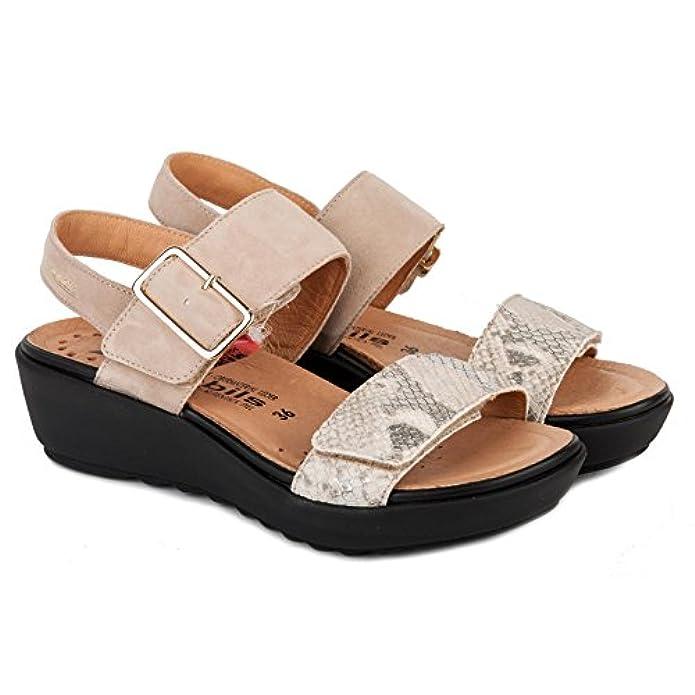 Mephisto Scarpe Sandalo Donna Folina 12212 3368 Lt Sand Pe17