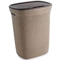 Ckarss Laundry Basket 50 L (Plastic)