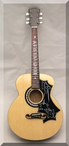 ELVIS PRESLEY Miniatura Guitarra ACOUSTIC OLD ERA: Amazon.es ...