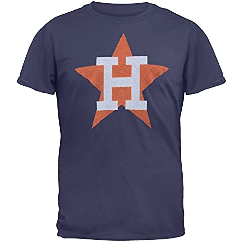 Houston Astros - Vintage Logo Soft T-Shirt - Large