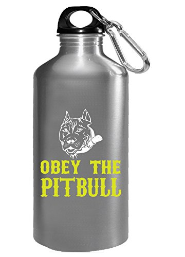 Obey The Pitbull - Water Bottle - Obey Pit Bull