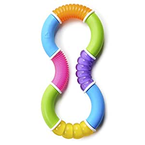 Munchkin Twisty Figure 8 Teether Toy, Multicolour