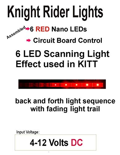 Knight Rider LED Scrolling