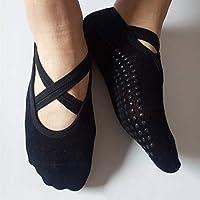 Florencinid Hombres Mujeres Yoga Calcetines Antideslizantes Respirables Aptitud de Pilates Calcetines