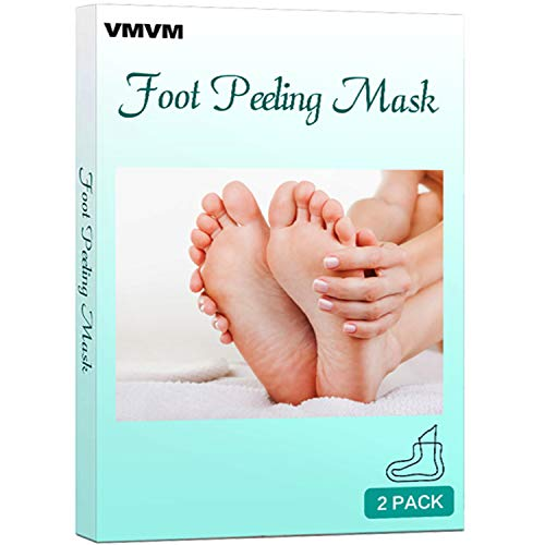 Baby Feet Exfoliant Foot Peel 2 Pack, Peeling Away Calluses and Dead Skin cells, Make Your Feet Baby Soft, Exfoliating Foot Mask, Repair Rough Heels, Get Silky Soft Feet by VMVM