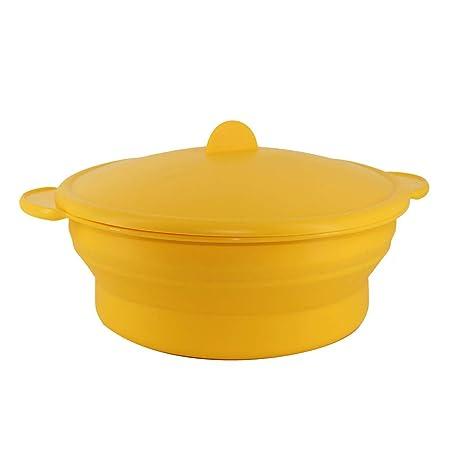 bestonzon silicona Pan cazo ensalada cuenco plegable cocina ...