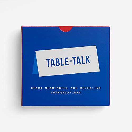 The School of Life - Table Talk Placecards - Spark More Meaningful Conversations Around The Table (Best Way To Get Laid In London)
