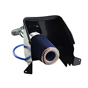 Performance Cold Air Intake Kit With Filter For Dodge 1994-2001 Ram 1500 & 1994-2002 Ram 2500 V8 (Blue)