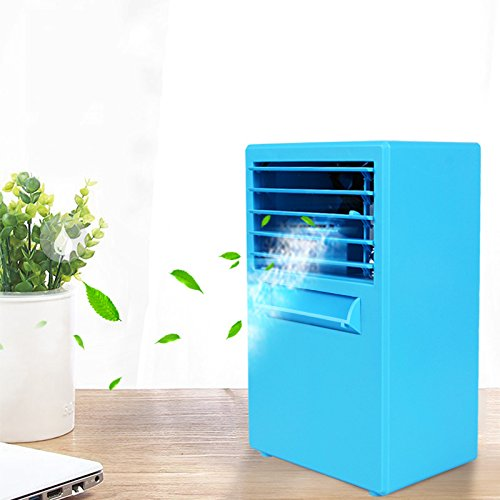 JiaQi Air Conditioning, Mini Air Conditioner Fan, Portable Cooling Office Home