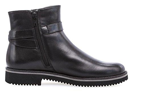 Gabor Dames Enkellaars - Zwarte Schoenen Zwart In De Maten Boven