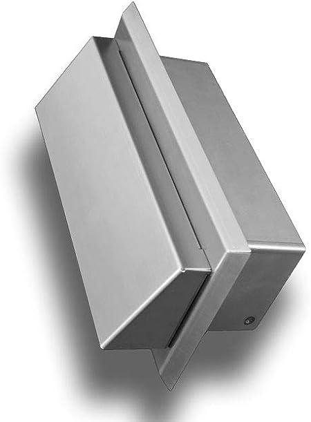 90 x 220 cm Grille da/ération plate en acier inoxydable Syst/ème 150 90 x 220