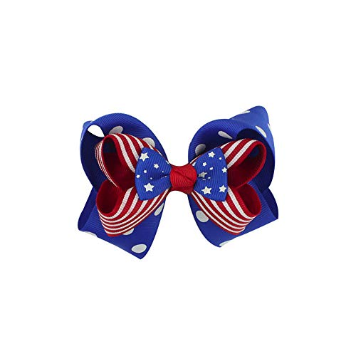 (Dsood Barrettes Flower Butterfly,Baby Girls Toddler Infant Kids Print 4th of July Hairpin Hair Clip Accessories,Hair Elastics & Ties)