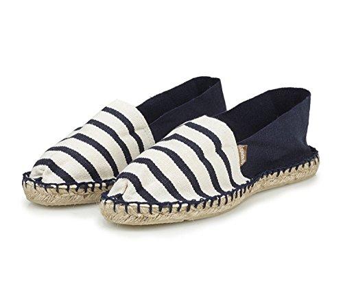 Classic L'originale Basses Espadrij Chaussures Adulte marine Mixte marine 100 Ecru 4SZ5P