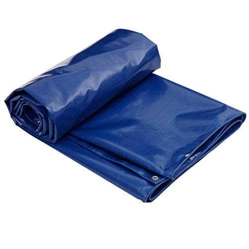 DNSJB Gepolsterte Regenplane, Sonnenblende, Outdoor Cover Tuch, in Verschiedenen Größen erhältlich, Blau, Hochwertige Plane (Größe   2m × 3m)
