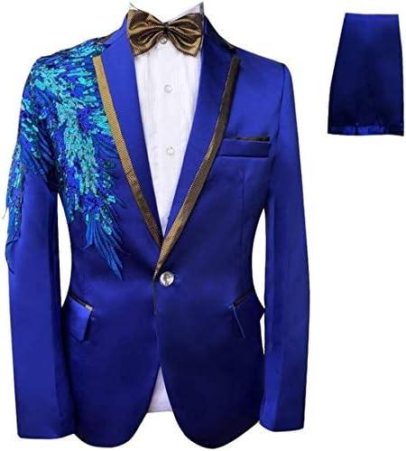 演出服 ステージ衣装 メンズ 舞台 スーツ メンス キラキラ ビジネススーツ セットアップ スリム 紳士礼服 ビジネス カジュアル 着心地抜群 パーティー 演奏会 フォーマル 結婚式 就職スーツ 司会者