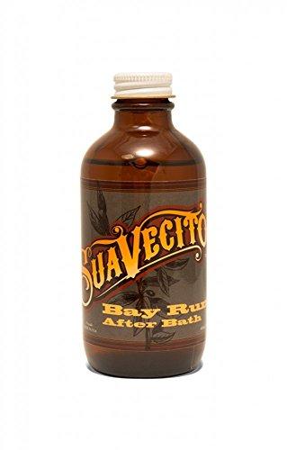 Suavecito Bay Rum After Bath, 4 oz