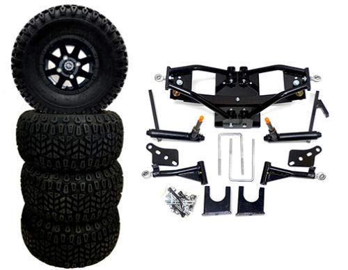 "3G 6"" Deluxe Lift Kit Combo for Club Car Precedent w/ 10"" To"