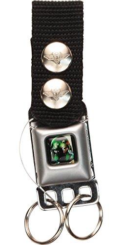 Boba Fett Seatbelt Keychain w/Snap-On Belt Loop
