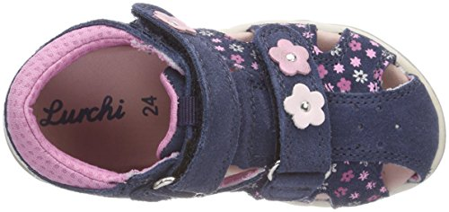 Lurchi Unisex-Kinder Jolly Sandalen Blau (Dk. Jeans)