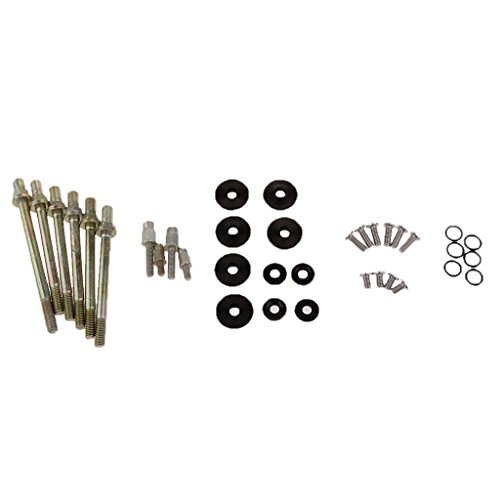 Jili Online Aluminum Engine Valve Cover Washer Bolt Kit for Honda K-SERIES K20 K24 - Black