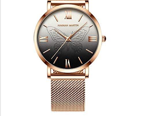 TIANJJ Reloj de Pulsera Relojes de Mujer Movimiento de ...