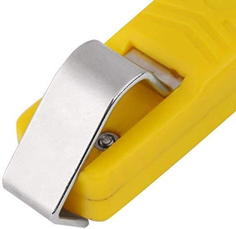 4-18 mm cable Hand stripping tool for PVC rubber silicone cable Wire blade cutting tool yellow 4-18 mm