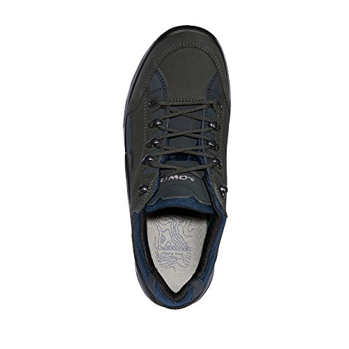 Lowa - Zapatillas para niña DUNKELGRAU/NAVY