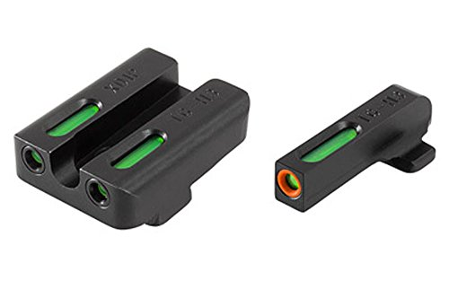 TFX Pro Tritium/Fiber-Optic Day/Night Sights, Green/Orange Ring for Springfield XD/XDM/XDS